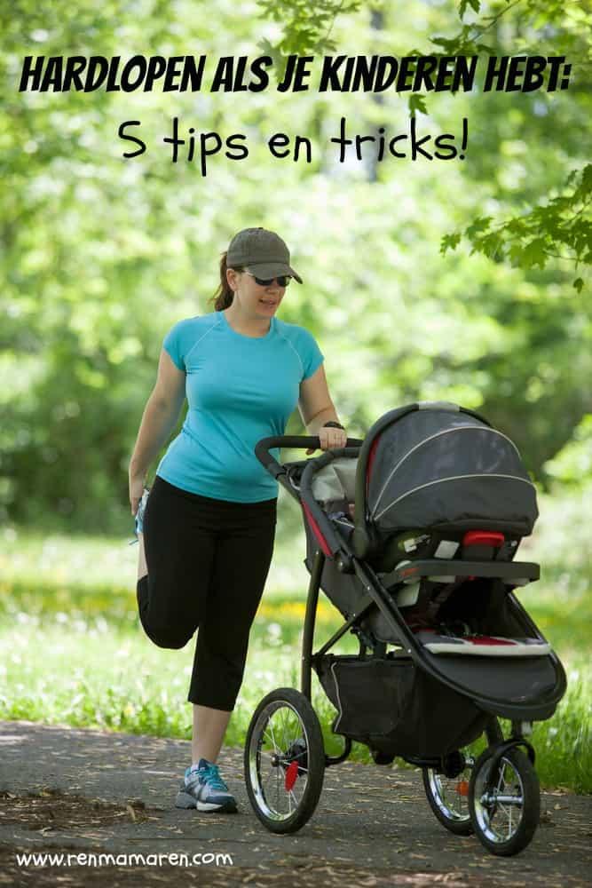 hardlopen met kinderen