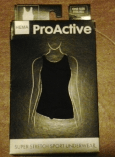 Hema dames sporthemd: product review