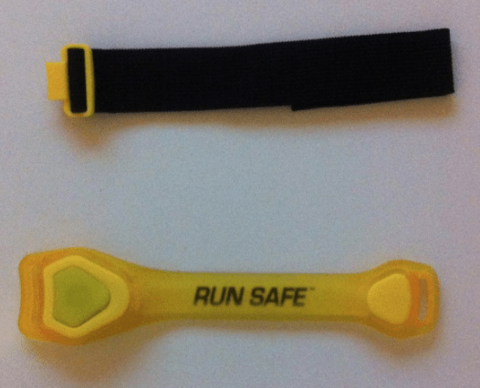 run safe led sports armband action