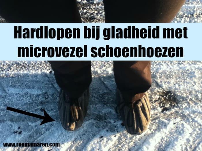 Hardlopen in de sneeuw en gladheid
