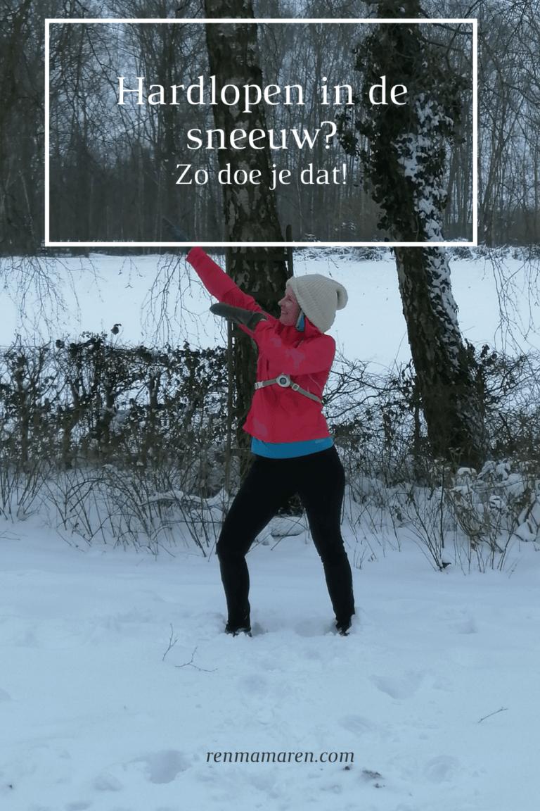Hardlopen in de sneeuw en gladheid: Ja dat kan!