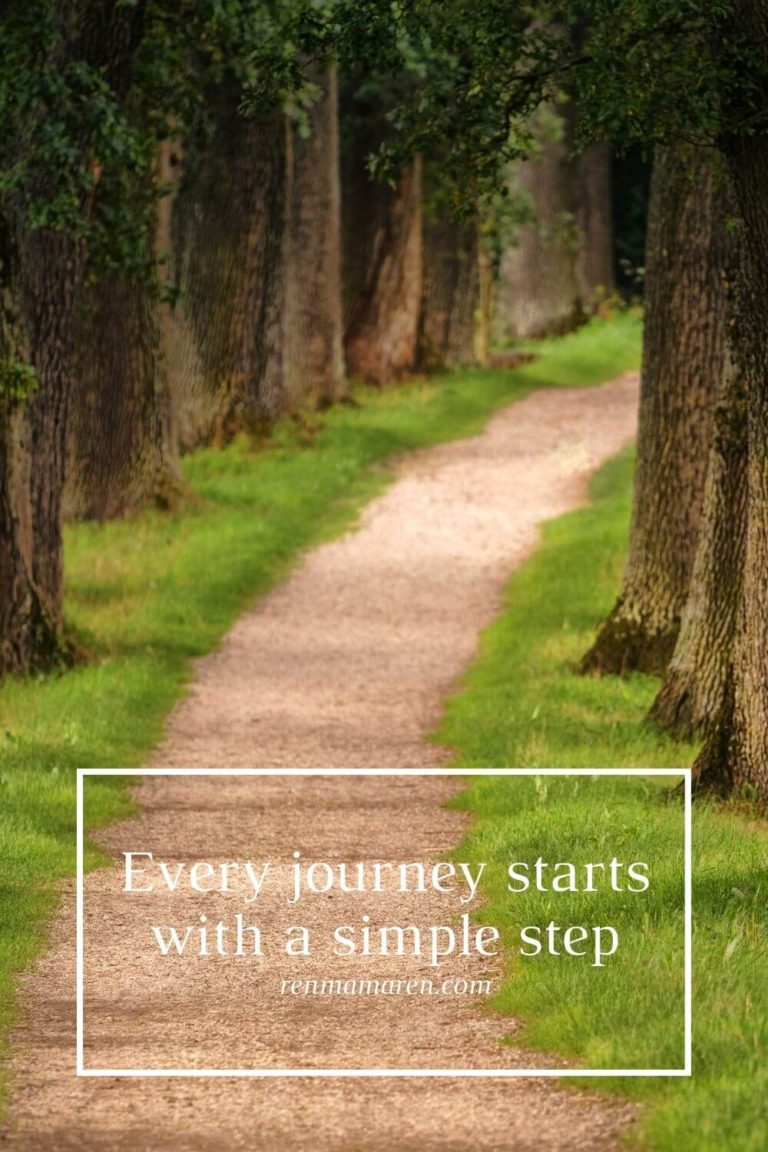 Every journey starts with a simple step