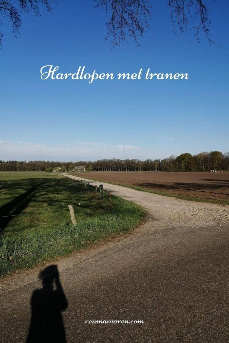 Hardlopen met tranen: hardlopen en rouw