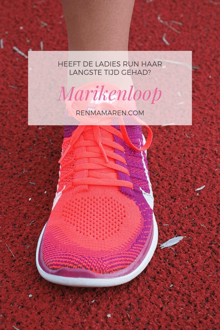 Heeft de Ladies Run van de Marikenloop haar langste tijd gehad?